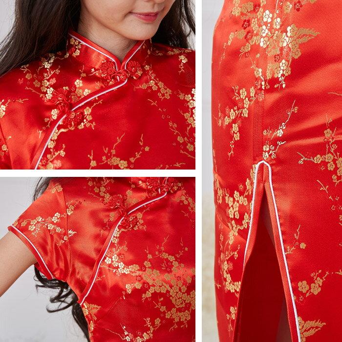 チャイナドレスコスプレロングショートハロウィンパーティサイズ展開a01ハロウィン衣装
