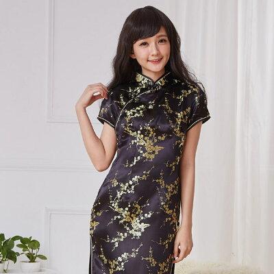 チャイナ服 チャイナドレス 11サイズ有り 半袖ロング 半袖ショート 袖無しロング a02コスプ...