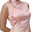 チャイナ服 チャイナドレス 半袖ロング 袖無しロング 半袖ショート  e04ゴスロリ♪ロリータ...