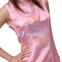 チャイナ服 チャイナドレス 半袖ロング 袖無しロング 半袖ショートg02ゴスロリ♪ロリータ♪...