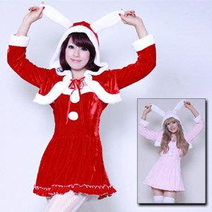 【送料無料3000円以上 クリスマス】サンタコスチューム ティンクルラビット costume552 ゴスロ...
