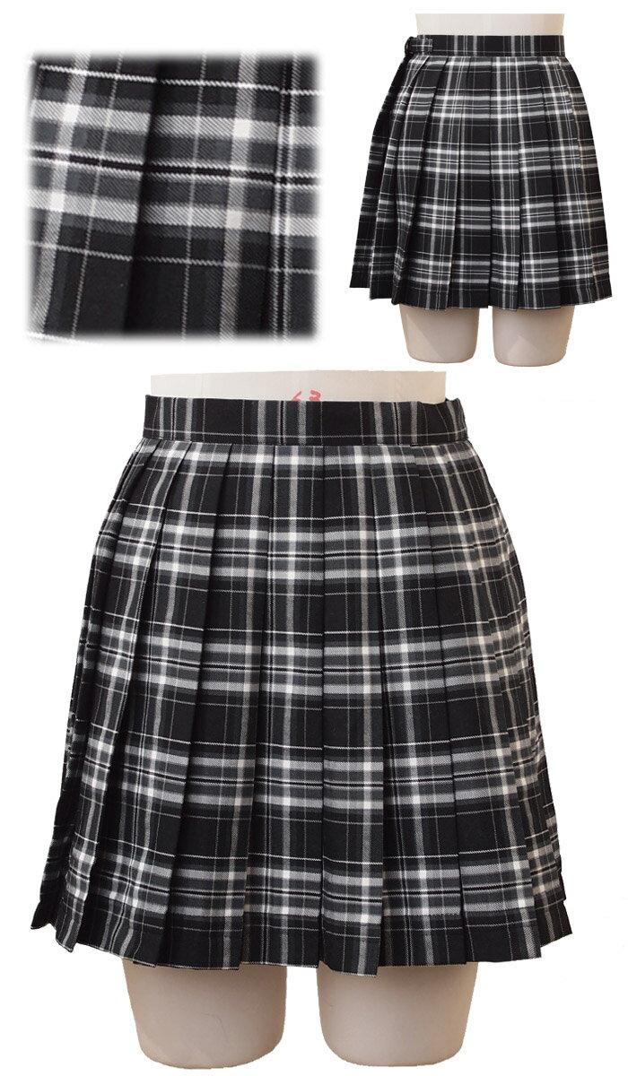 スクールスカートB柄チェックフリーアジャスター付で再登場costume571