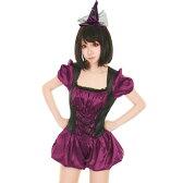 店内50%OFF〜開催中♪ 魔女 魔法使い 2点セット M〜Lサイズあり costume760