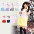 パステルセーラー服 コスプレ セーラー服 制服 女子高生 ブレザー M〜4Lサイズあり 8色展開 3点セット costume825