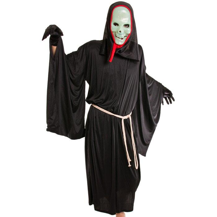 ホラーコスプレメンズハロウィン衣装男性用仮面マスクM〜Lサイズあり5点セットcostume898ハロウィン衣装