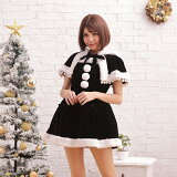 コスプレ サンタコスチュームラブリーフード コスプレ クリスマス セクシー衣装 M〜2Lサイズあり 5色展開 2点セット セクシー こすぷれ costume459 衣装