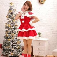 e0e25dbed79a2 サンタ コスプレ 大きいサイズ サンタ 衣装 サンタコス S M L ノルディックサンタコスプレ 6点 3点セット