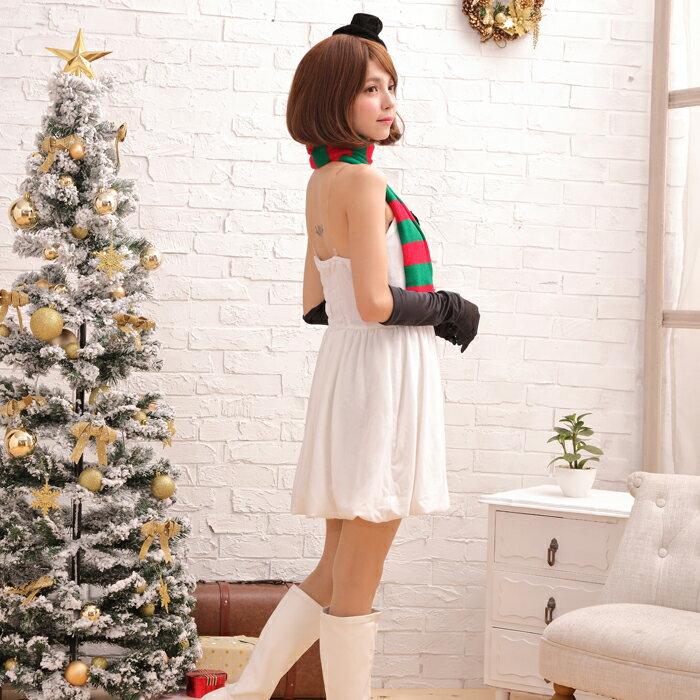 【Mフリー】サンタコスチュームコスプレクリスマスセクシー衣装4点セットcostume922衣装