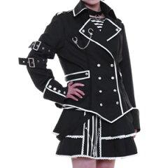 看守ドレス p125 ゴスロリ♪ロリータ♪パンク♪コスプレ♪コスチューム♪メイド