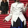 店内50%OFF〜開催中♪ ロングポイントシャツジャケット ゴスロリ ロリータ パンク コスプレ ハロウィン 2色展開 m〜4Lサイズあり p129 ハロウィン 衣装