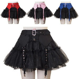 ハロウィン ダスティーファッションガーター パニエスカート