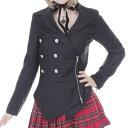 スプリットバインダージャケット ゴスロリ ロリータ パンク コスプレ m?4Lサイズあり p278 衣装