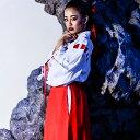 【半額クーポン配布中】 コスプレ 巫女 和服 着物 大きなサイズ M L 2L 3L 4L コスチューム 激安通販 仮装...