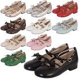 ハロウィン コスプレ ミレーヌ2リボンカッターシューズ ブーツ パンプス 靴 シューズ コスプレ 22.0〜25.0サイズあり 10色展開 こすぷれ はろういん s519 衣装