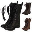 リボンロングブーツ ブーツ パンプス 靴 シューズ コスプレ 22.5〜26.0サイズあり 3色展開 s534