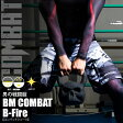 BM COMBAT B−Fire コンバットショーツ【BODYMAKER ボディメーカー】格闘技 格闘家 ボクシング 総合格闘技 キックボクシング MMA バトル ハーフパンツ 半ズボン メンズ ストレッチ