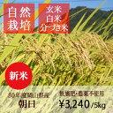 【新米】【無肥料 自然栽培米】【農薬不使用】【玄米】【30年...
