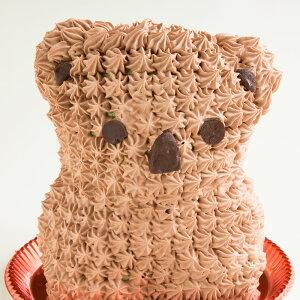 ケーキ デコレーション アニマル ケーキ 立体 コアラケーキ ( ショコラ味 ) [ 送料無料 冷凍便 チョコ 動物ケーキ アニマルケーキ コアラ こあら 立体ケーキ 動物 キャラクター バースデーケーキ 誕生日 かわいい ギフト 贈答 ] お取り寄せスイーツ