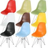 イームズサイドシェルチェアDSRタイプ★確実イスチェアー椅子いすパソコンオフィスミッドセンチュリーパーソナルデザイナーズ家具Eames送料無料送料込みホワイト白ブラック黒
