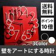 【ポイント10倍】 ウォールクロック 掛け時計 壁掛け 時計 アナログ 正方形 掛時計 壁掛け時計 壁掛時計 クロック 文字盤 立体的 ギフト 贈り物 祝い 送料無料 ホワイト ブラック レッド 白 黒 赤 おしゃれ
