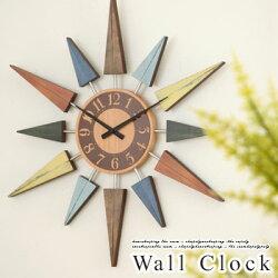 掛け時計・おしゃれ・壁掛け時計・北欧・デザイン・スイープ・時計・静音