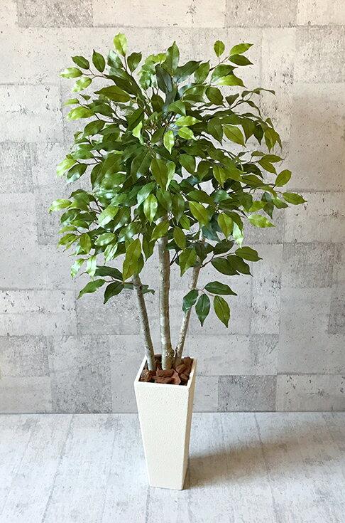 【送料無料】ベンジャミン120cm【人工観葉植物】 【フェイクグリーン】 【おしゃれ】 【観葉植物】 【造花】 【光触媒】 【大型】