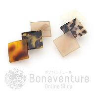 ボナバンチュール(Bonaventure)3色スクエアバレッタ