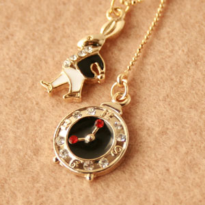◆ Bonaventure (ボナバンチュール) women's fairytale ( rabbit & watch ) translated into popular shape necklace pendant is! Yen reduction trial % review post 2013 gifts