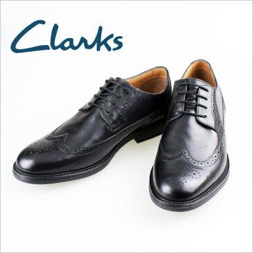 CLARKS クラークス 送料無料 609E ウイングチップ ベックフィールドリミット ブラック メンズ ドレスシューズ ビジネスシューズ 抗菌防臭【最終特価】【クラークスアウトレット】【 最終セール】