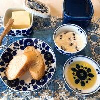 白山陶器ブルームジャムケース、バターケース