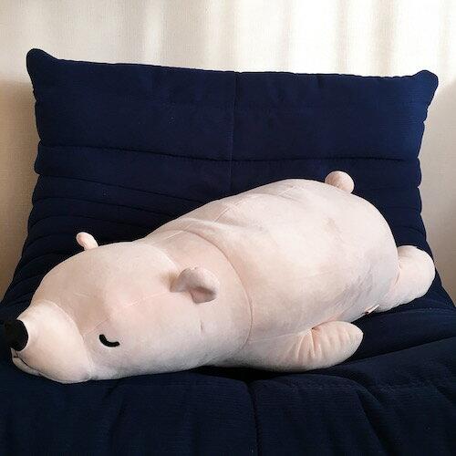 プレミアムねむねむ 抱き枕 L しろくま くま もちもちぬいぐるみ