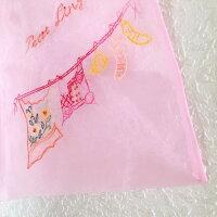 ベトナム刺繍巾着ポーチ