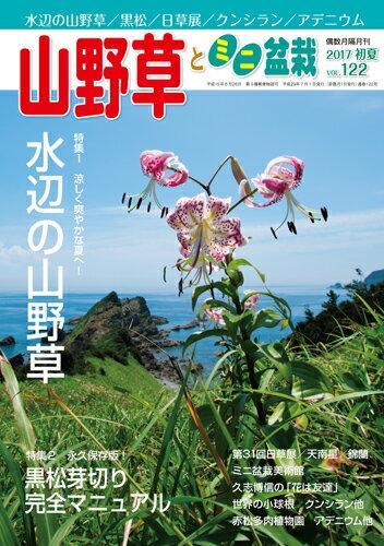 隔月刊「山野草とミニ盆栽」17年初夏号