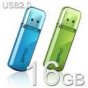 USBメモリー 16GB Herios 101 USB2.0【送料無料/メール便】シリコンパワー SP016GBUF2101V1USBフラッシュ USBメモリ USBフラッシュメモリー