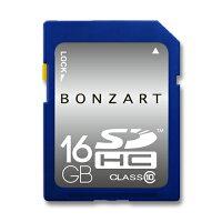 SDカード16GBCLASS10BONZRTSDHC16ギガクラス10永久保証付き高速大容量デジタルカメラビデオカメラ