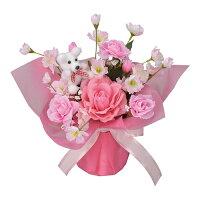 母の品花ギフト光の楽園インテリアフラワープードルW【送料無料】光触媒人工植物造花インテリアプレゼント