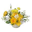 母の品 花 ギフト光の楽園 インテリアフラワー スイートプードル【送料無料】光触媒 人工植物 造花 インテリア プレゼント
