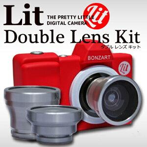 30万画素ミニカメラBOZART Lit+とコンバージョンレンズをセットにしたお得なセット商品。数量限...