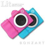 BONZART Lit+ ボンザート リト プラストイカメラ キッズカメラ ミニカメラ30万画素 WEBカメラ