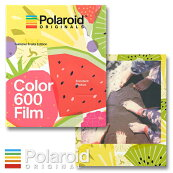 ColorFilmfor600SummerFruitsEditionPolaroidOriginalsポラロイドi-type/600カメラ用カラーフィルム8枚撮り