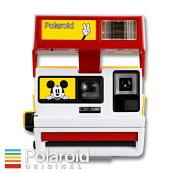 Polaroid600BOXCameraLimitedEditionforMickey's90thポラロイドボックス型600カメラミッキーマウス生誕90周年モデル