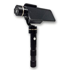 スマートフォンで浮遊感のある安定した動画撮影を可能にする3軸電子制御 手持ち ジンバルジンバ...