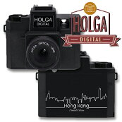 トイカメラHOLGADIGITALHongKongEditionホルガデジタル数量限定デザインカメラケースSDカードストラップ付き