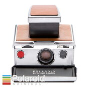 PolaroidSX-70Originalシルバー×ブラウン一眼レフインスタントカメラ