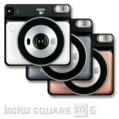 FUJIFILMinstaxSUQARESQ6チェキSQUARE用インスタントカメラチェキSQUARE用フィルム10枚付き