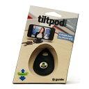 iPhone4S/4用の「tiltpod mobile」であれば、スタンドがキーホルダーとして使用できるため、カ...