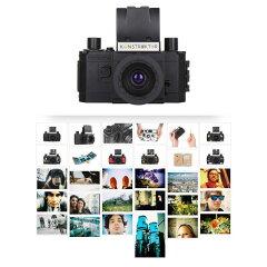 ロモグラフィ フィルムカメラ 35mm 自分で作る プレゼント プラスチック一眼レフカメラのキット...