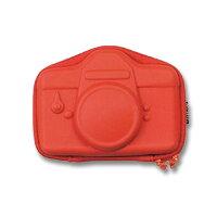 カメラケースMotifeDIGITALCAMERACASEレッドセトクラフトコンデジ用カラビナメディアポケット