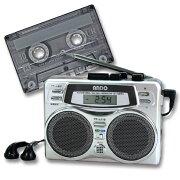 ラジカセ スピーカー ポータブル アンドーインターナショナル カセットテープ カセット レコーダー アナログ カラオケ