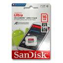 SanDisk マイクロSDカード 16GBmicroSDHC クラス10 UHS-I98MB/s  ...